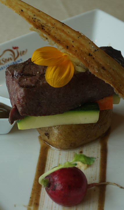 Your choice from superior French dishes