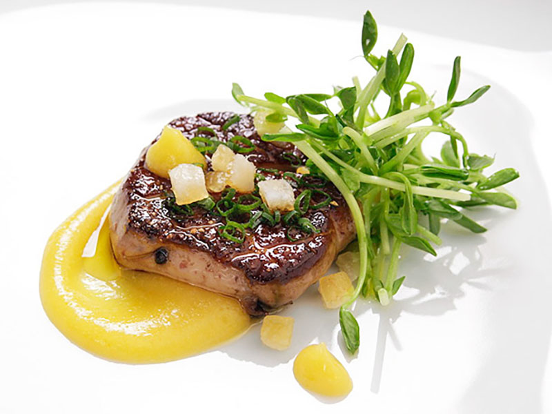 Pan-seared Foie Gras1