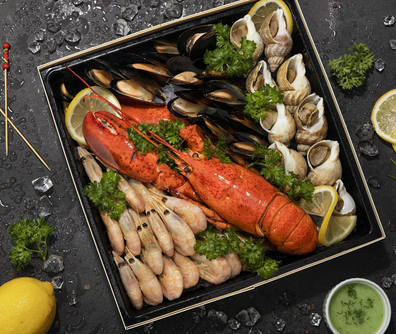 cold seafood